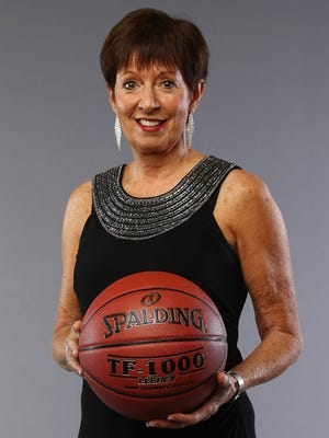 Notre Dame women's basketball head coach Muffet McGraw will speak at the Wyndham Gettysburg on April 26, 2018. The event is hosted by the Notre Dame Club of Gettysburg.