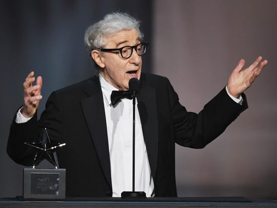 Woody Allen at American Film Institute on June 8, 2017