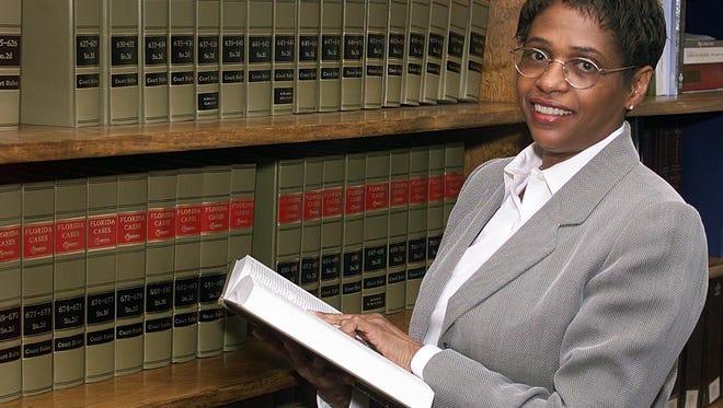 Judge Nikki Clark in her law office.