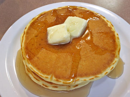 Pancakes will be available Sunday at the Day of Caring