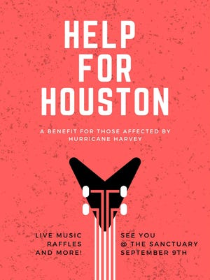 Help for Houston is Saturday at The Sanctuary in Montgomery.
