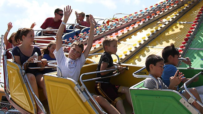 The Winnebago County Fair is filled with fun and rides for people of all ages.