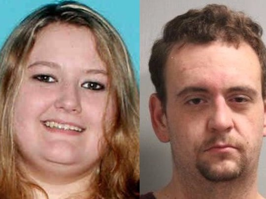Amber Dawn Jarvis (left) and Christopher Shannon Catt