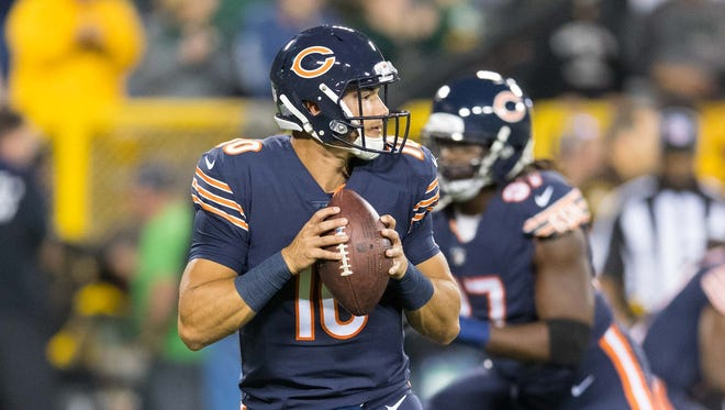 Chicago Bears quarterback Mitchell Trubisky.