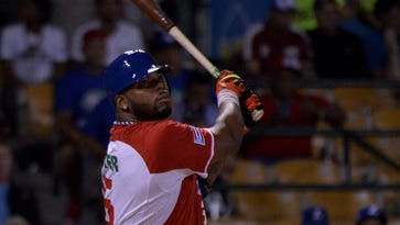 Twins slugger Kennys Vargas is showing off his slimmer frame and hitting long balls for Puerto Rico in the Caribbean Series.