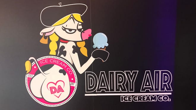 The controversial logo of the Dairy Air Ice Cream Co. in Montclair.