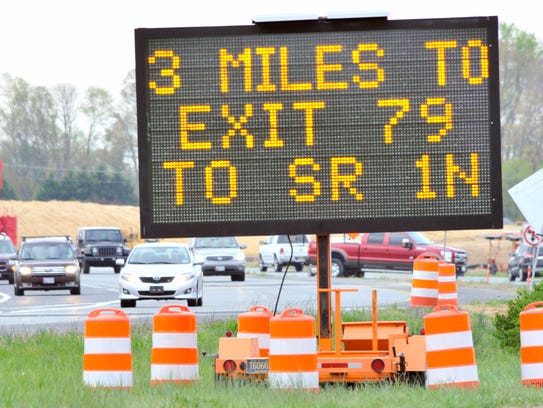 As part of the ongoing Del. 1 Little Heaven Grade Separated Intersection Project, lane closures will take place on Tuesday (Feb. 27) on northbound Del. 1 near south Skeeter Neck Road in Frederica.