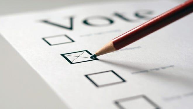 A light ballot awaits DeSoto County voters Tuesday.