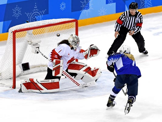 Olympics: Ice Hockey-Women Team Final - USA-CAN