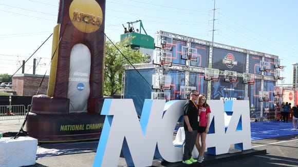 The NCAA bans championships from being held in New Jersey.