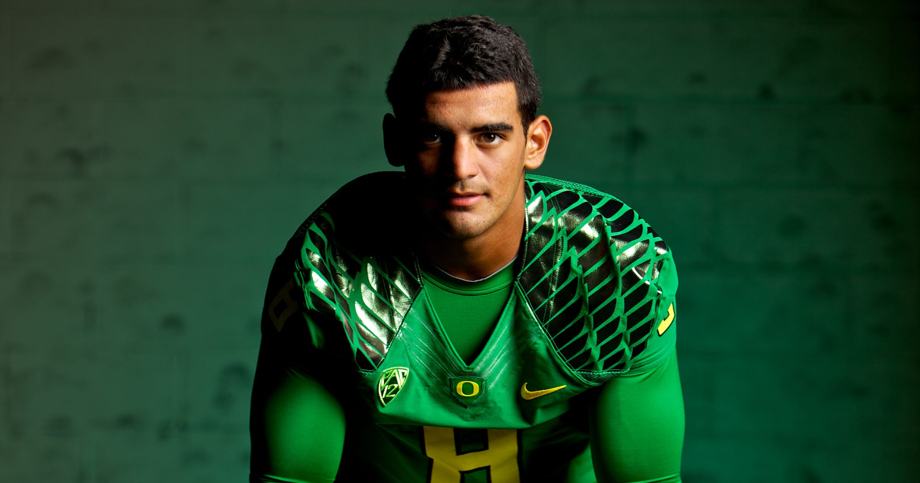 new arrival bde22 ce47d Marcus Mariota: The many habits of a highly successful ...