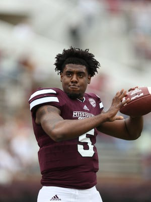 Mississippi State has granted Elijah Staley his release and the quarterback will transfer he announced on Friday.