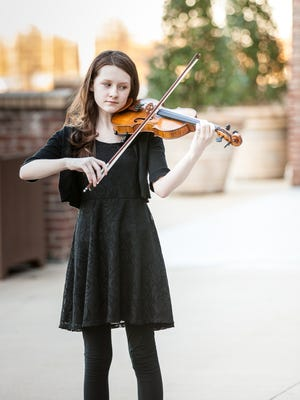 Local violinist Abby Reed, 11, will perform in an upcoming special on NPT-Nashville Public Television. She is the daughter of Chris and Teresa Reed.