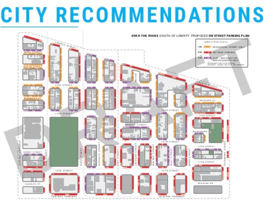 Proposed Over-the-Rhine residential parking plan