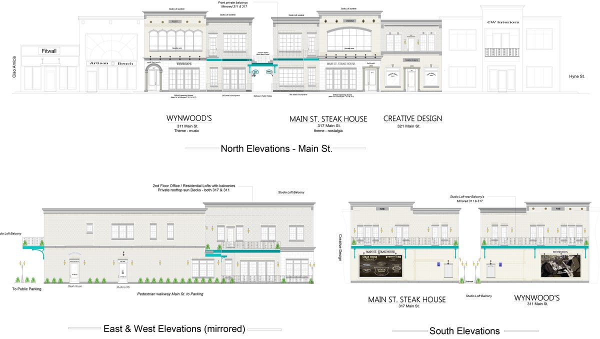 New restaurants high end apartments to replace vacant building malvernweather Choice Image