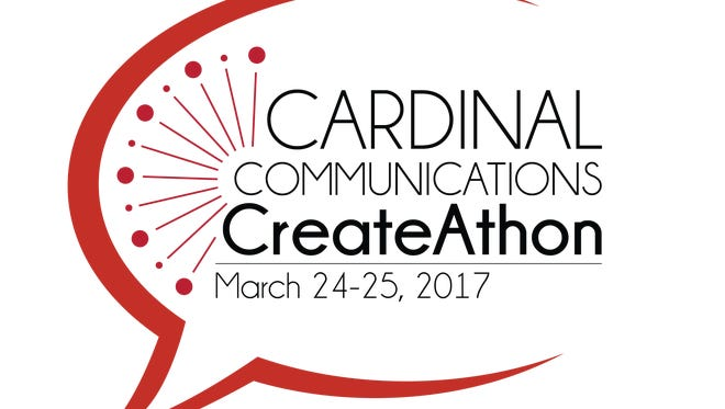 Cardinal Communitcation's first CreateAthon is Friday-Saturday, March 24-25 at Holden Strategic Communications Center on Ball State University's campus.