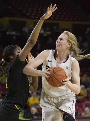 Sophomore center Quinn Dornstauder had 11 points/7 rebounds Friday in No. 11 ASU's 68-60 win at Colorado.
