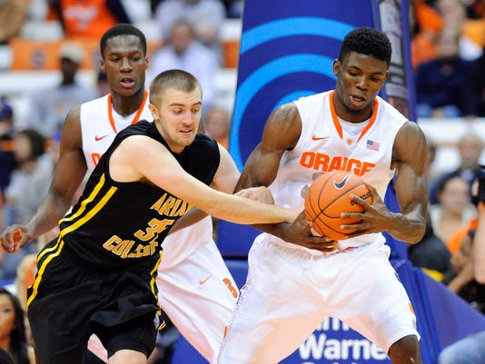 NCAA Basketball: Preseason-Adrian at Syracuse