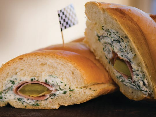 Stuffed ham slices is one of 45 recipes Clabber Girl