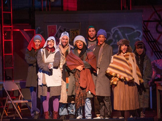 "With ""Rent,"" theater and medicine form an unlikely alliance"