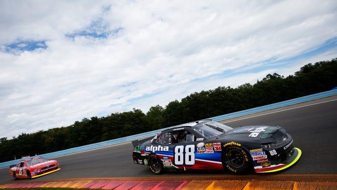 Ben Rhodes during the NASCAR XFINITY Series Zippo 200 at Watkins Glen International on August 8, 2015 in Watkins Glen, New York.