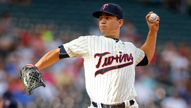 Tommy Milone has pitched the last three seasons for the Twins.