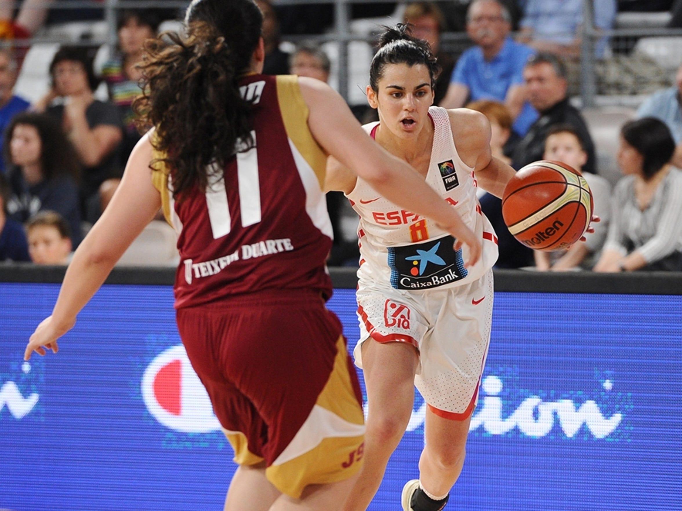 Leticia Romero of FSU Women's basketball, will represent