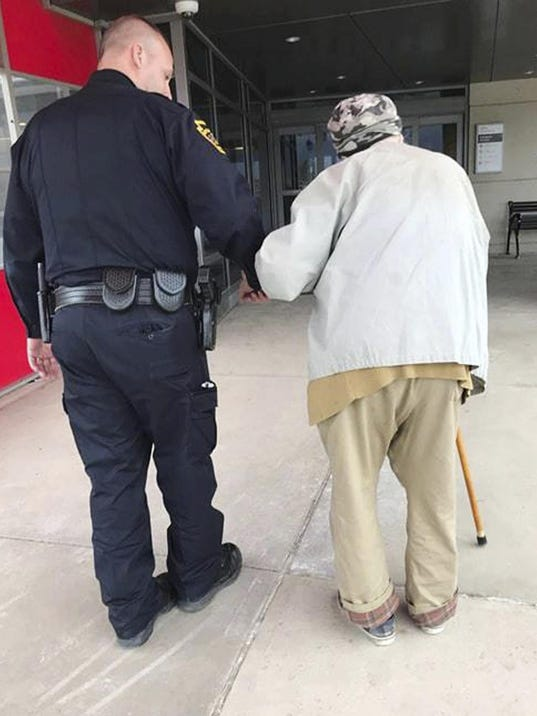 Officer Helps Man Visit Wife