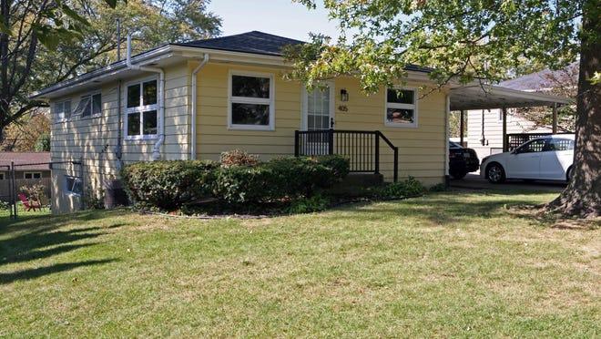 Anna Williams and Joseph Chappell's home in Iowa City.