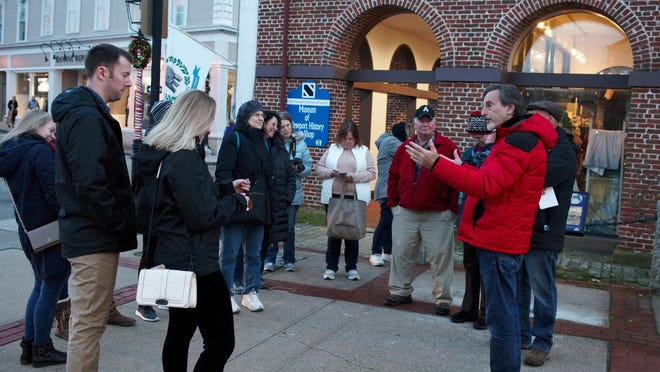 The Newport Historical Society once again has started to give walking tours.
