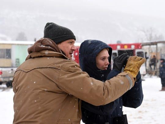 """Jeremy Renner and Elizabeth Olsen star in """"Wind River."""""""