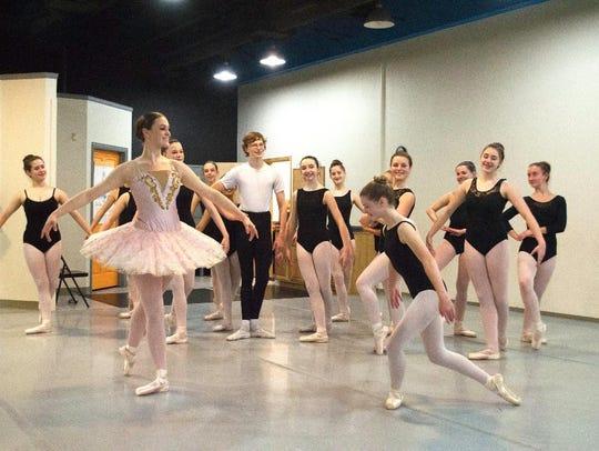 "The Wichita Falls Ballet Theatre will perform ""The"