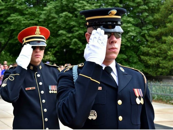 Windsor graduate Pfc. Jeffrey Colwell is now a Tomb