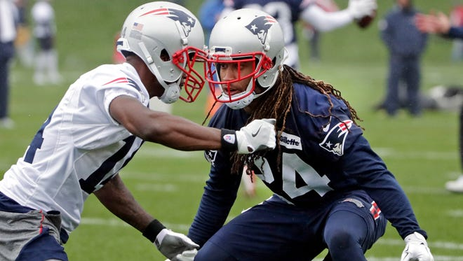 CB Stephon Gilmore (24) enters his sixth NFL season but first with the Patriots.