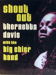 "Album jacket cover for ""Shout Out"" by Thornetta Davis"