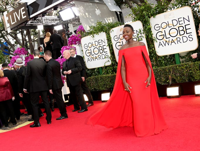 "<p>Meet the leaders of the fashion pack. The Golden Globes are always a frenzy of fabulous fashion. So it takes something special to land a coveted spot on the best-dressed list. USA TODAY's fashion team picks the stars who led the way. | Lupita Nyong'o | L-U-P-I-T-A. Learn this name fast, because the supporting-actress nominee is headed straight for the A-list. She ruled the red carpet in a caped Ralph Lauren dress and Fred Leighton ring. ""So far I've only worn things that I feel speak to me,"" she told E! of her newly minted fashionista status.</p>"