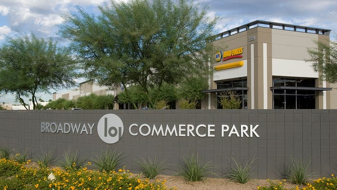 The Broadway 101 Commerce Park is located on the former Motorola site at Dobson and Broadway in Mesa.
