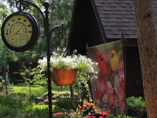 This year's garden walk features eight beautiful landscapes,
