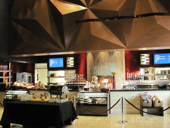 The concession area at iPic Theaters in Scottsdale