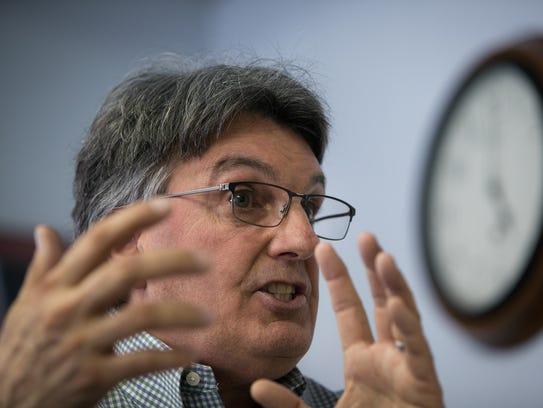 Gary Pollio, the executive director of Interfaith Community