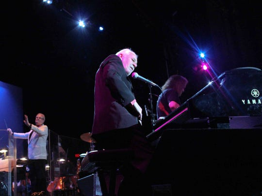 English rock act Procol Harum performs with the Delaware