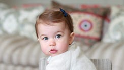 Princess Charlotte will turn one on Monday, May 2.