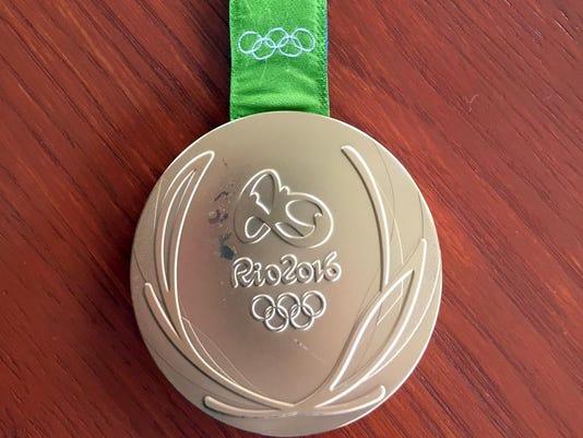 Rio Olympics Faulty Medal