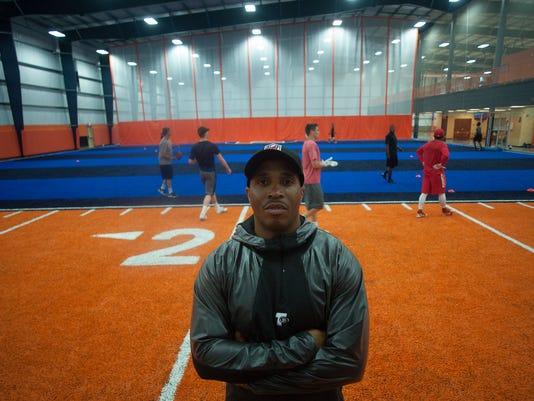 Former NFL player fitness center