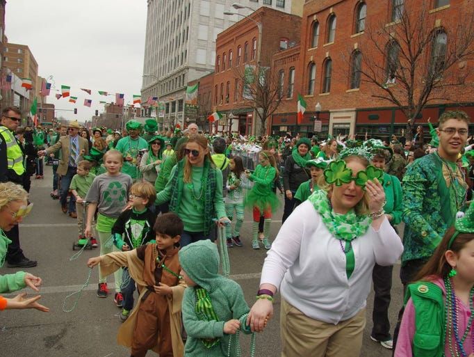 St. Patrick's Day events around the USA