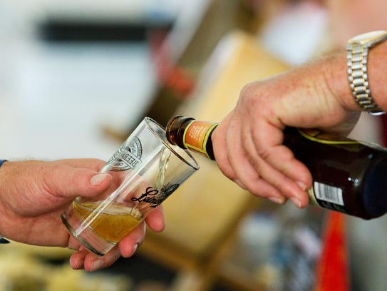 Patrons enjoy a plethora of world class beer and cheese