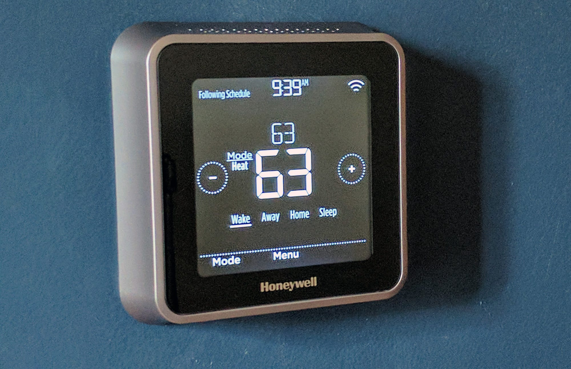 the honeywell lyric t5 wifi thermostat after you tap
