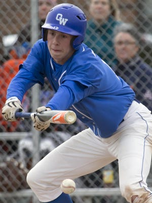 Oshkosh West's Jakob Guenther led a young Wildcat team both on the mound and at the plate.