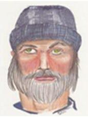 A composite sketch of the I-65 Killer.