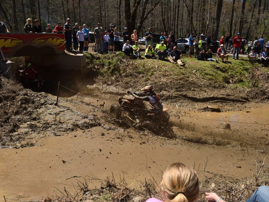 GNCC courses normally take around two hours to complete
